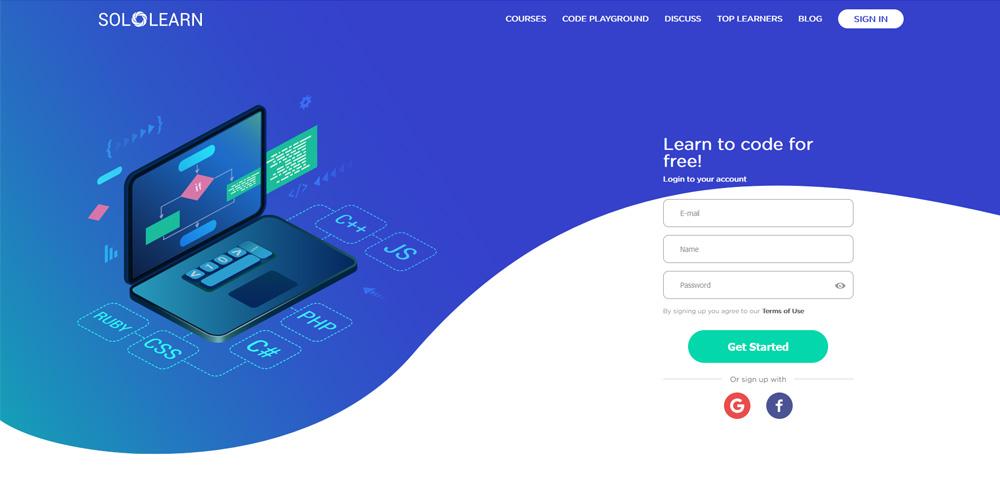 kreator najbolje web stranice za učenje programiranja u 2021. godini Solo Learn