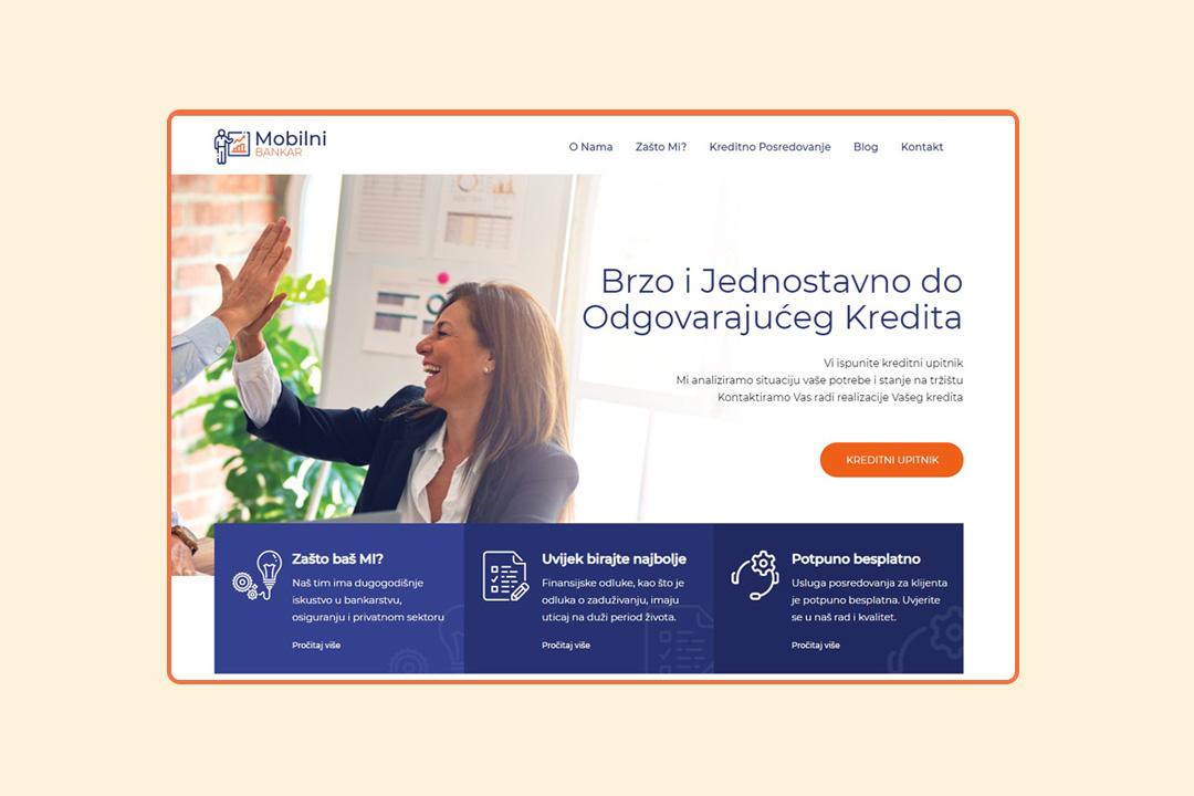 Mobilni bankar Kreator Zenica