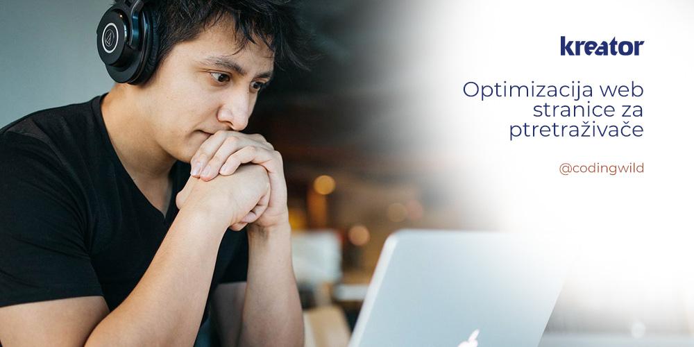 kreator optimizacija web stranice za pretraživaće