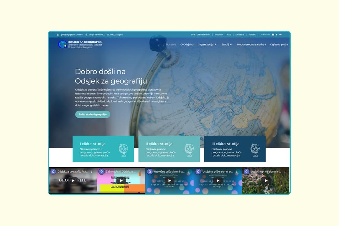 PMF Geografija Referenca Kreator Zenica