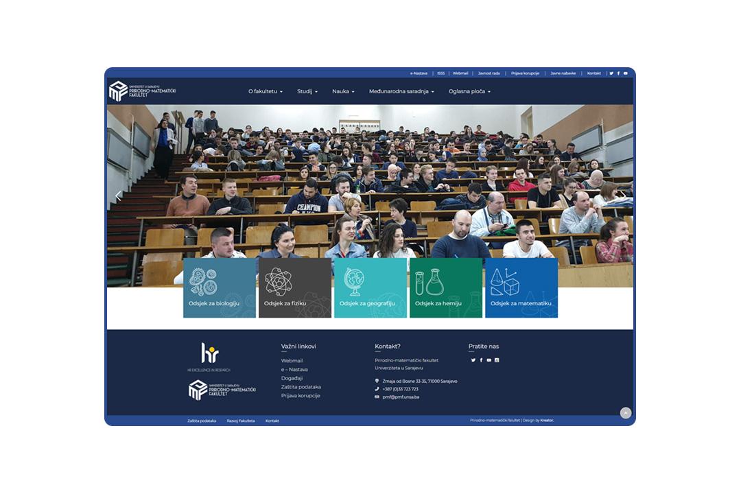 Prirodno-matematički fakultet u Sarajevu